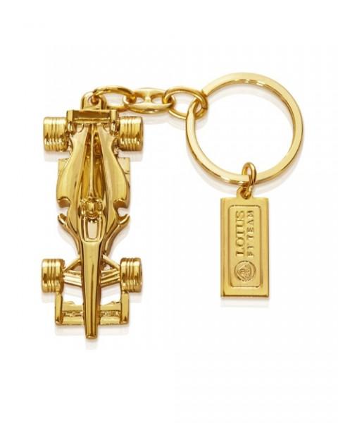 Schlüsselanhänger Lotus F1 Rennwagen