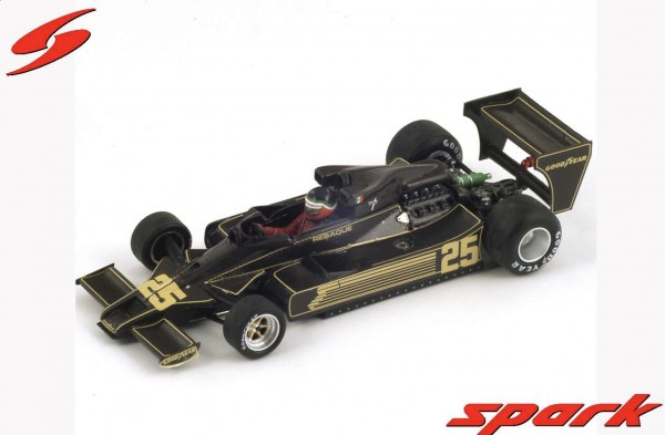 Modellauto F! Team Lotus 78 NO.25 1:43